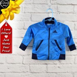 Adidas Baby Full Zip Longsleeve Jacket  ~a0eu6p1d